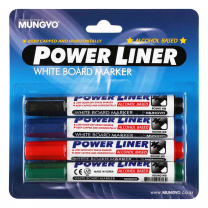 Mungyo Whiteboard Markers Bullet Point - Pack of 4