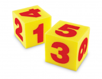 Giant Soft Cubes: Numbers - Set of 2