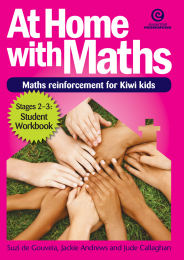 At Home with Maths Book - Stages 2-3