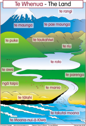 The Land Maori Chart