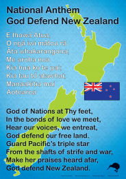NZ National Anthem Chart