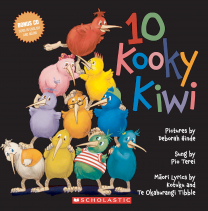 10 Kooky Kiwi Book and CD