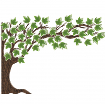 Woodland Whimsey Tree Bulletin Board