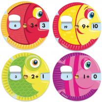 Addition Maths Wheels