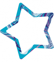 Marble Star Note Pad