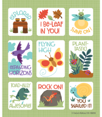 Nature Explorers Reward Stickers