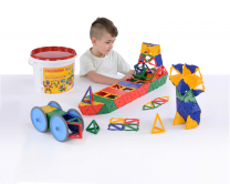 Polydron Mighty Tub - 200 pieces