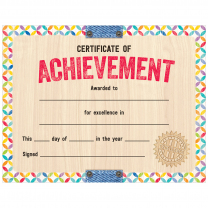 Upcycle Certificate of Achievement Large Certificates