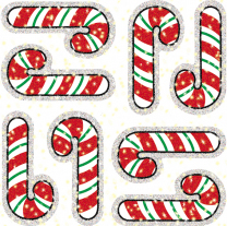 Stickers Candy Canes