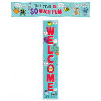 So Much Pun Welcome Banner