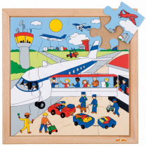Airport Wooden Puzzle