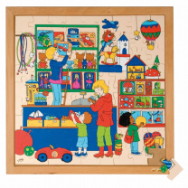 Toy Shop Wooden Puzzle