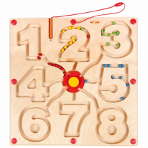 Numbers Motor Skills Wooden Game
