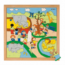 Zoo Wooden Puzzle