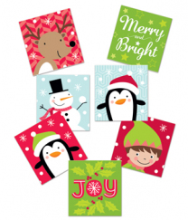 Merry and Bright Stickers