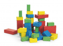 Giant Building Bricks - 40 pieces