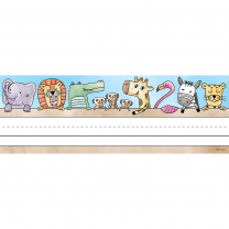Safari Friends Classroom Labels