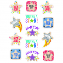 Upcycle Stars Reward Stickers