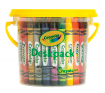 48 Large Crayola Crayon Deskpack - Pack of 48