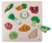 Vegetables Peg Puzzle