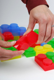SiliShapes Soft Bricks - 72 pieces