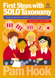 First Steps with SOLO Taxonomy Book