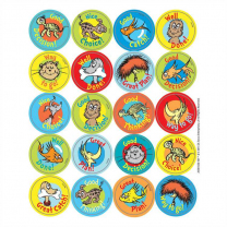 Dr. Seuss Pet Reward Stickers