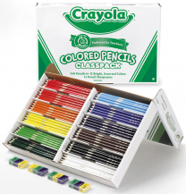 Crayola Coloured Pencil Class Pack