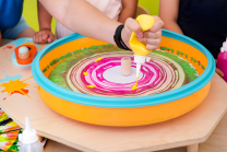 Flying Colours Paint Spinner