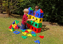 Giant Polydron Class Set - 80 pieces