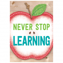 Never Stop Learning-Upcycle Poster