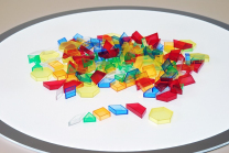 Translucent Pattern Blocks