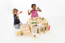 Rainbow Bricks - Set of 36