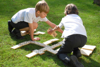 Giant Wooden Dominoes