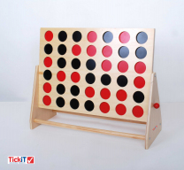 Giant Wooden Connect 4 Game