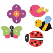 Magnetic Counting Garden Puzzles