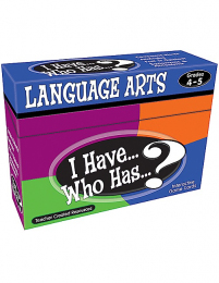 I Have, Who Has Language Arts Game Level 4