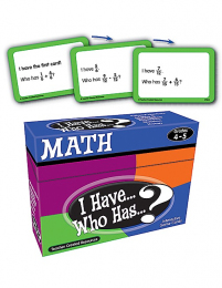 I Have, Who Has Maths Game Level 4