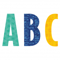Retro Patterns Alphabet Lettering - 18cm