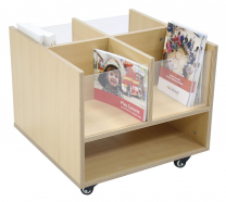 Creative Book Bin with Perspex Ends