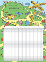 Oh the Places You'll Go Incentive Chart