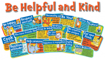 Dr. Seuss Be Helpful and Kind Bulletin Board