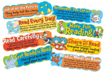 Dr. Seuss Reading Tips Mini Bulletin Board