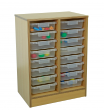 Creative 2 Column Unit - holds 7.5cm tubs
