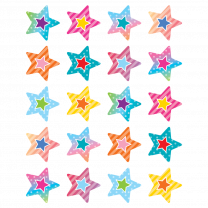 Colourful Vibes Stars Reward Stickers