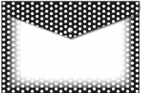 Black & White Dots Poly Folders