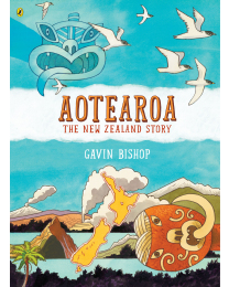 AOTEAROA - The New Zealand Story Book