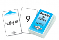 Double or Halves Level 1 Smart Chute Cards