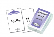 Subtraction Level 2 Smart Chute Cards