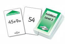 Addition Facts Level 3 Smart Chute Cards